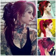 2016 emo ponytail hairstyles haircuts hairstyles 2017 and hair
