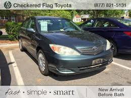 02 toyota camry xle pre owned 2002 toyota camry xle 4d sedan in virginia