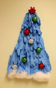 making a christmas tree with gloves u2014 making a christmas tree with