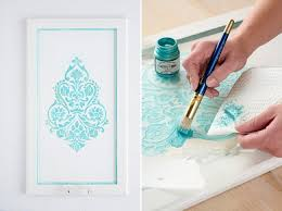 diy kitchen cabinet decorating ideas diy kitchen cabinet modern design damask pattern turquoise white