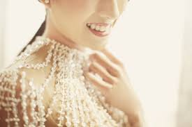 Wedding Dress Bandung A Breathtaking Crystal Pearl Embroidered Gown For A Champagne