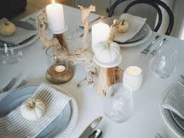 simple thanksgiving elegant and simple thanksgiving tablescape aol lifestyle food