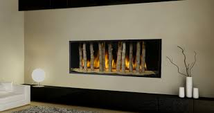 simple modern electric fireplace in minimalist house decor unique