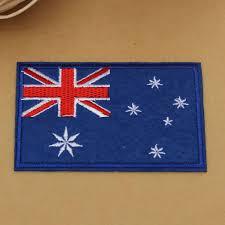 Flag Badges Embroidered Buy Australia Flag Pattern Embroidered Badge Patch Diy Badges