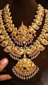 bridal bracelet gold images Bridal gold antique jewellery set pinterest short necklace jpg