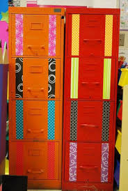 Orange Filing Cabinet 24 Amazing File Cabinet Ideas For Your Classroom U2013 Bored Teachers