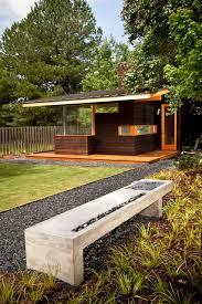 modern outdoor bench u0026 water feature modern garden atlanta