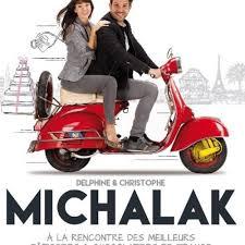 livre de cuisine michalak christophe michalak pose avec sa femme delphine mccarty pour