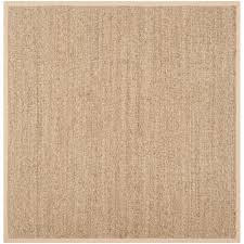 10 Square Area Rugs Safavieh Natural Fiber Tan Beige 10 Ft X 14 Ft Area Rug Nf114a