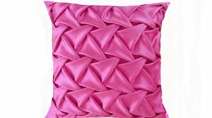 Pink Round Cushion Canadian Smocking Beautiful Fabric Manipulation Technique Youtube