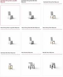 ikea harry chair slipcover ikea dining chair slipcovers now available at comfort works within