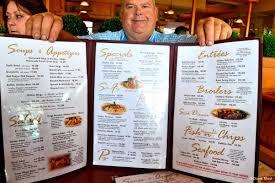 gorge country kitchen extensive menu elora restaurant ontario