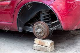 rusty car car without wheels costs on brick old rusty car brakes in poor