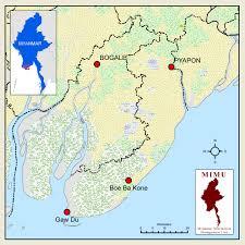 Irrawaddy River Map Irin Doing Good In The Ayeyarwady River Delta