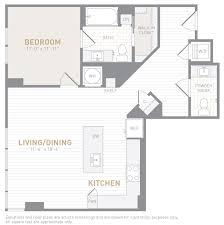 Powder Room Floor Plans Floor Plans Insignia On M Apartments The Bozzuto Group Bozzuto