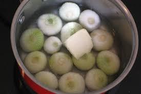 truc de cuisine technique de cuisine du cap de cuisine glacer des oignons à blanc