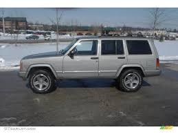 2000 silverstone metallic jeep cherokee classic 4x4 25792810