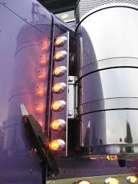 peterbilt air cleaner lights peterbilt front air cleaner light panels phoenix p3 lights elite