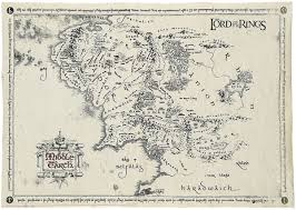 map eath middle earth map