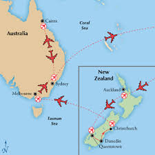 auckland australia map 18 day new zealand australia with cairns visit auckland