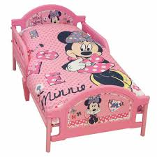 Minnie Mouse Toddler Bed Frame Disney Minnie Mouse Shopaholic Toddler Bed Next Day Select Day
