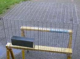 Home Made Rabbit Hutches Rabbit Cage Plans How To Build Your Own Homemade All Wire Rabbit Cage