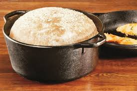 lodge dutch oven table the best no knead bread homemade bread pot 2017