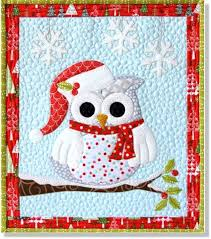 owl be home for pre cut pre fused applique quilt kit