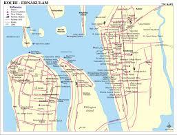 Local Map Kochi Ernakulam City Map City Map Of Ernakulam Kochi With