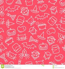 free halloween background paper halloween pattern stock vector image 69190827