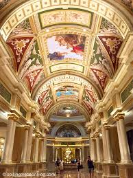 Venetian Las Vegas Map by The Venetian Las Vegas Nevada Colorful Murals And Opulent