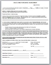 19 sales purchase agreement template assignment of contract