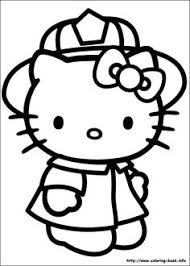 kitty coloring picture coloring pages