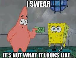 Spongebob Meme Pictures - i swear it s not what it looks like spongebob meme image golfian com