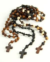 knotted rosary knotted rosary cross necklace the third eye