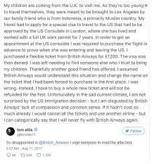 british airways black friday lucifer u0027s tom ellis vows to boycott british airways again daily