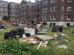 a look inside the junk yard playground on governors island