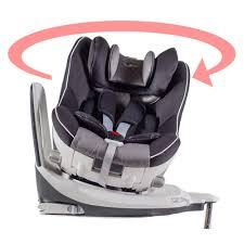 siege auto obligation siège auto pivotant 360 the one gris noir isofix groupe 0 1