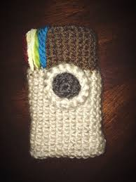 Crochet Instagram Phone Case 8 Steps With Pictures