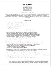 Mechanical Planning Engineer Resume Engineering Resume Templates To Impress Any Employer Livecareer