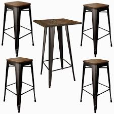 high bar table and chairs 74 most great bar height pub table high top set and chairs round