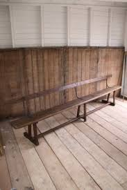 Bench Supports Wood Dining Bench With Back Foter