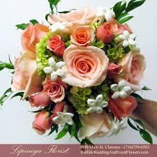 simple wedding bouquets coral orange bridal bouquets buffalo wedding event