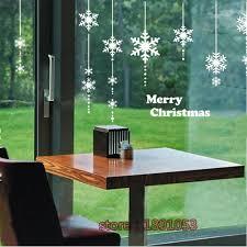 buy perfect wall stickers christmas snowflake window at dinodirect english snowflake pattern christmas new year wall stickers living room bedroom decorative glass window