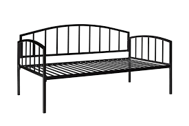White Metal Daybed Dhp Furniture Ava Metal Daybed