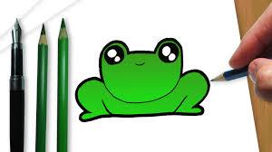 imagenes de un sapo para dibujar faciles cómo dibujar un kawaii sapo youtube