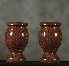 African Vases Roquemore Marble And Granite Granite Vases