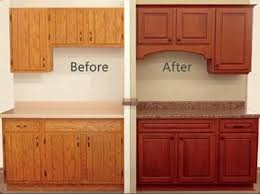 Kitchen Cabinets Refinished Best 25 Kitchen Refacing Ideas On Pinterest Refacing Cabinets