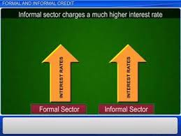 Formal Credit And Informal Credit cbse class 10 economics formal and informal credit lessson