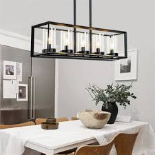 restaurant kitchen lighting post modern new nordic rectangular restaurant dining room kitchen